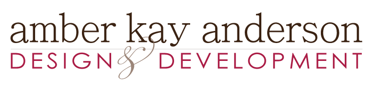 Amber Kay Anderson Design and Development